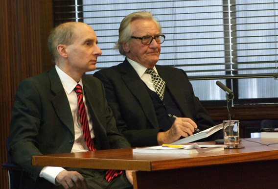 Photo of Lord Andrew Adonis and Lord Michael Heseltine